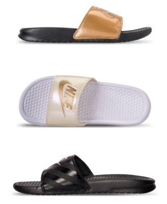 Benassi Just Do It Swoosh Slide Sandals
