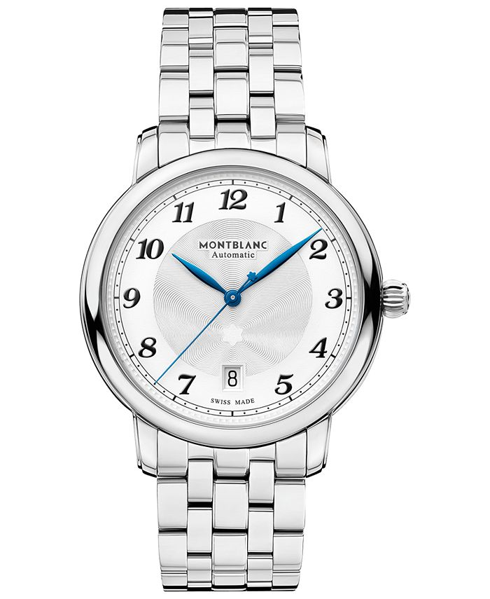 Montblanc - Men's Swiss Automatic Star Legacy Stainless Steel Bracelet Watch 39mm