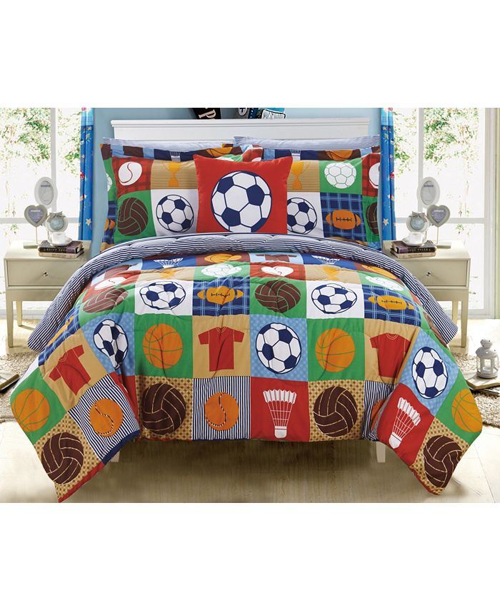 Chic Home - Shiloh 8-Pc. Bed In a Bag Comforter Sets