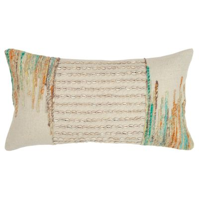 """14"""" x 26"""" Abstract Design Pillow Down Filled"""