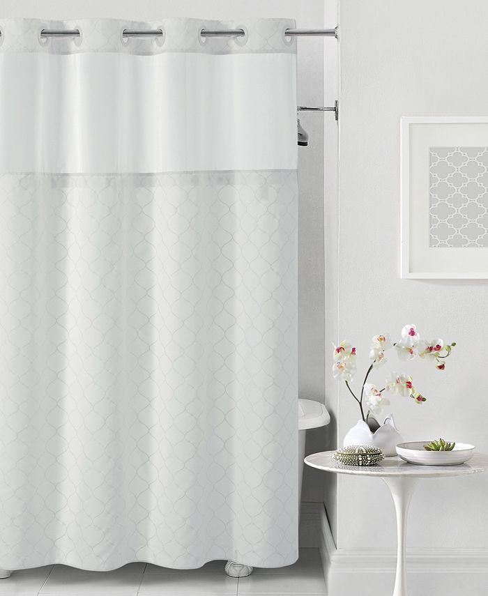Hookless - Mosaic 3-in-1 Shower Curtain