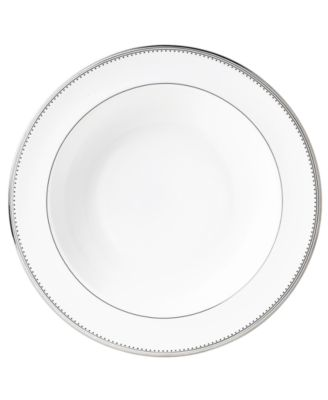 Vera Wang Wedgwood Dinnerware, Grosgrain Pasta Plate