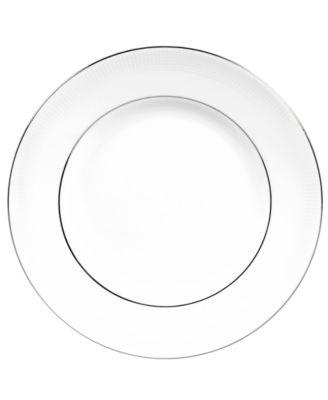 Vera Wang Wedgwood Dinnerware, Blanc sur Blanc Salad Plate