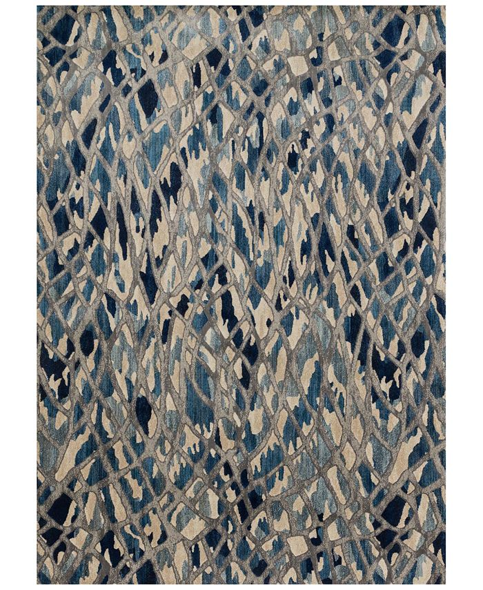 "Loloi - Dreamscape DM-06 Artic Blue/Silver 5' x 7'6"" Area Rug"