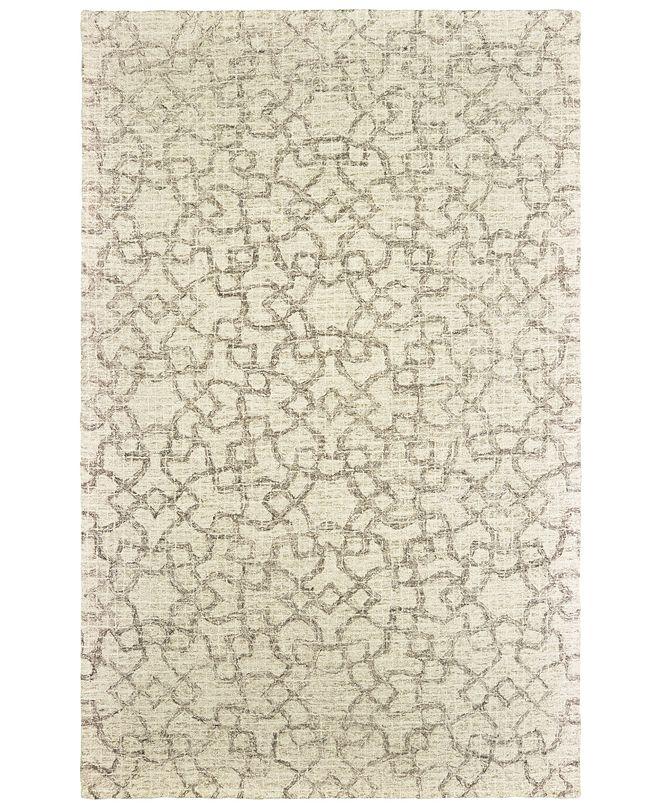 Oriental Weavers Tallavera 55608 Tan/Ivory 8' x 10' Area Rug
