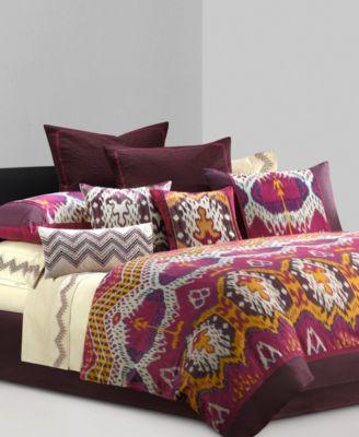 """N Natori Bedding, Chapan 18"""" Square Decorative Pillow"""
