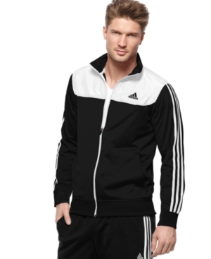 adidas Jacket, Burnside Tricot Track Jacket