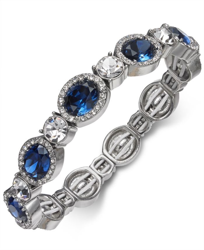 Charter Club Crystal Stretch Bracelet, Created for Macy's  & Reviews - Bracelets - Jewelry & Watches - Macy's