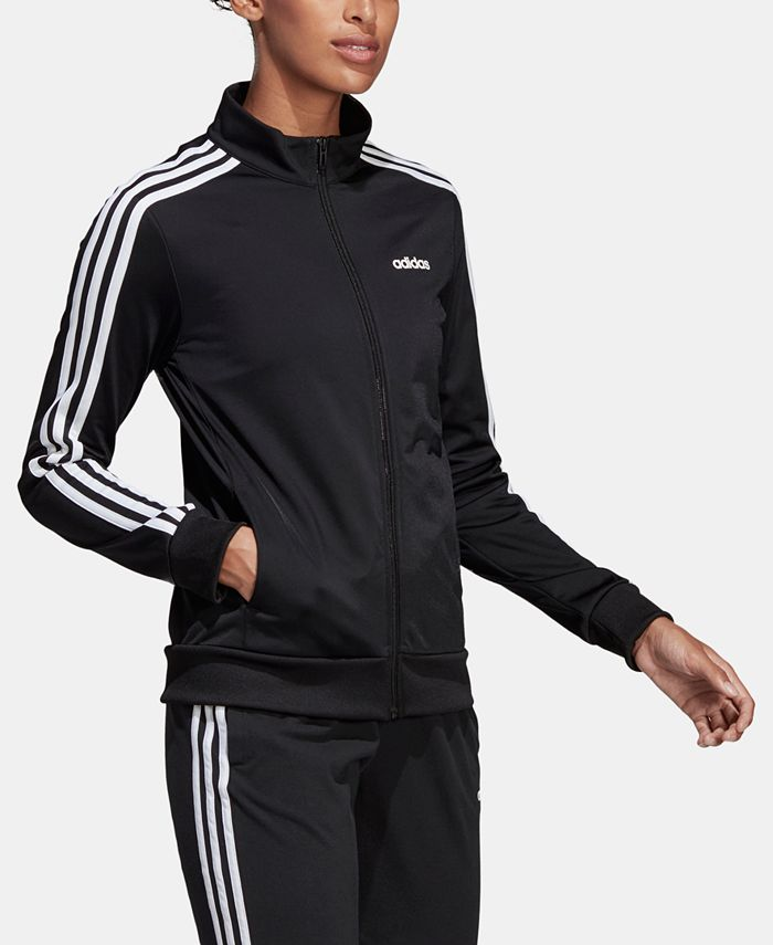 adidas - 3-Stripe Tricot Track Jacket