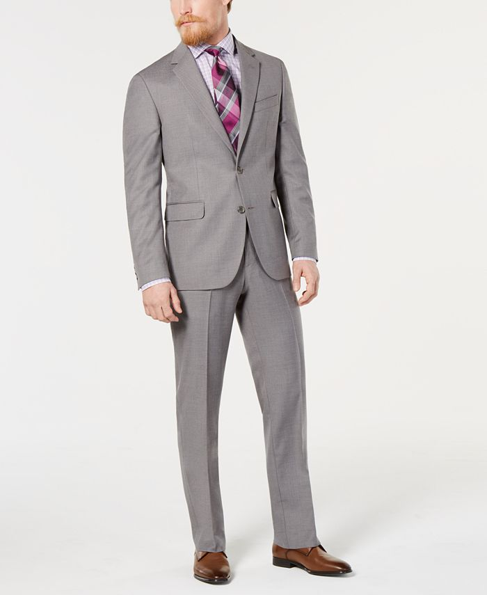 Dockers - Men's Modern-Fit Step-Weave Suit