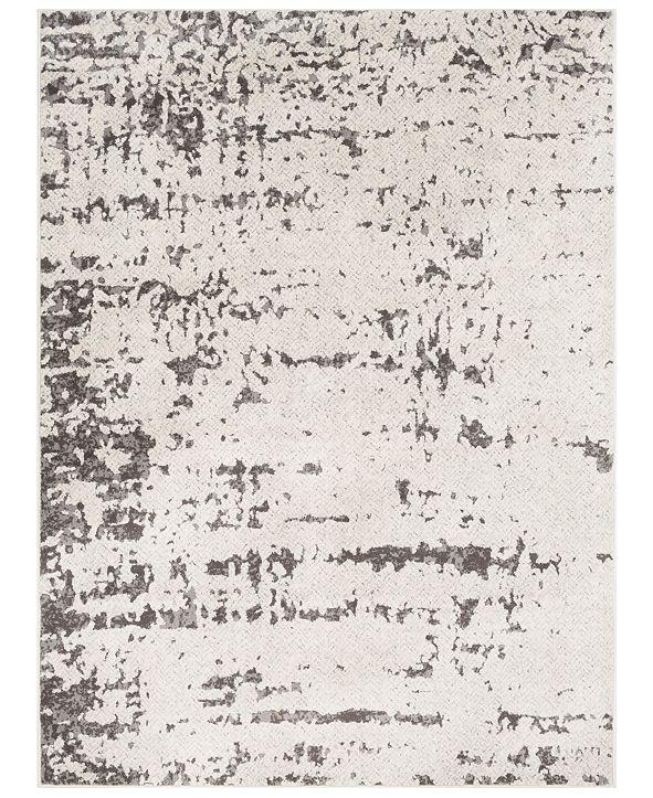 Surya Bahar BHR-2322 Medium Gray 2' x 3' Area Rug