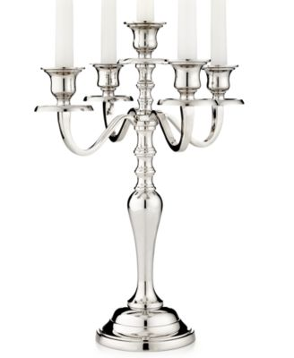 Leeber Candle Holders, 5 Light Hampton Candelabra