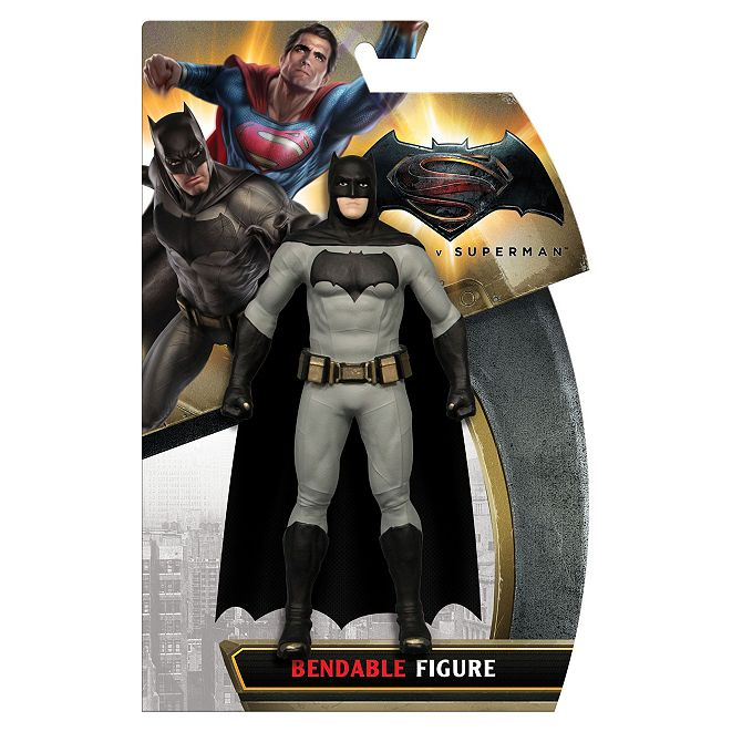 DC Comics NJ Croce Batman VS. Superman Batman Bendable Figure