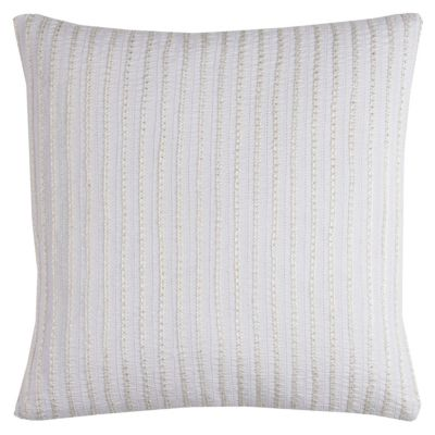 "20"" x 20"" Striped Down Filled Pillow"