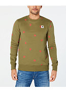 G-Star Raw Scattered-Print Straight-Fit Men's Sweater