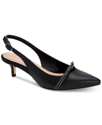 macys shoes black pumps