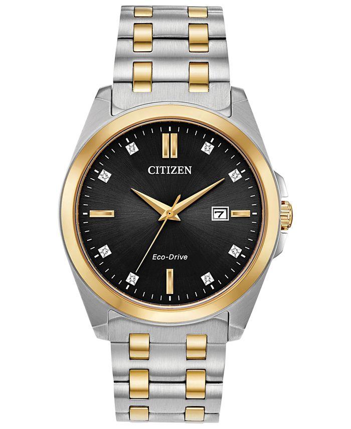 Citizen - Men's Corso Two-Tone Stainless Steel Bracelet Watch 41mm