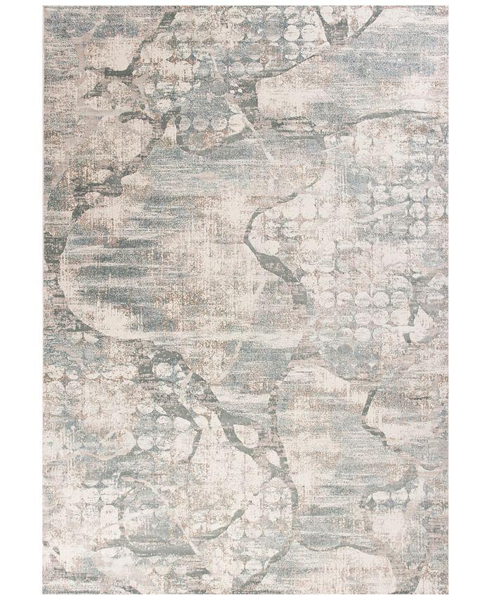 """Kas - Crete Visions 6514 Ivory/Mist 7'10"""" x 11'2"""" Area Rug"""