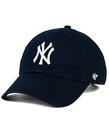 '47 Brand New York Yankees On-Field Replica CLEAN UP Strapback Cap