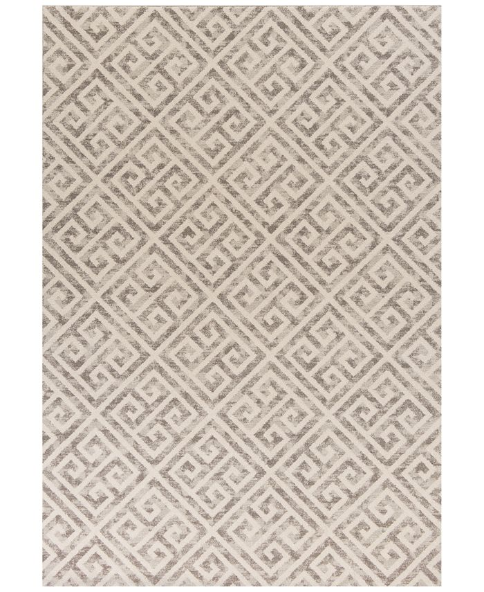 Kas Closeout Reflections Greek Key 7433 Taupe 2 7 X 4 11 Area Rug Reviews Rugs Macy S
