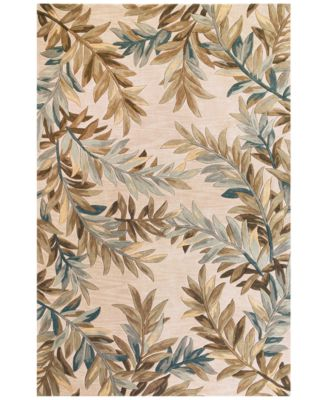 """Sparta Tropical Branches 5'3"""" x 8'3"""" Area Rug"""