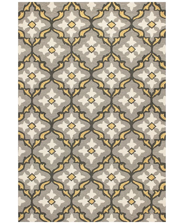 Kas - Harbor Mosaic 2' x 3' Indoor/Outdoor Area Rug