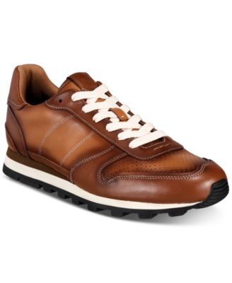 C118 Burnished Leather Sneakers
