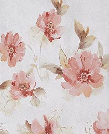 Saturday Knight Ltd. Misty Floral Shower Curtain