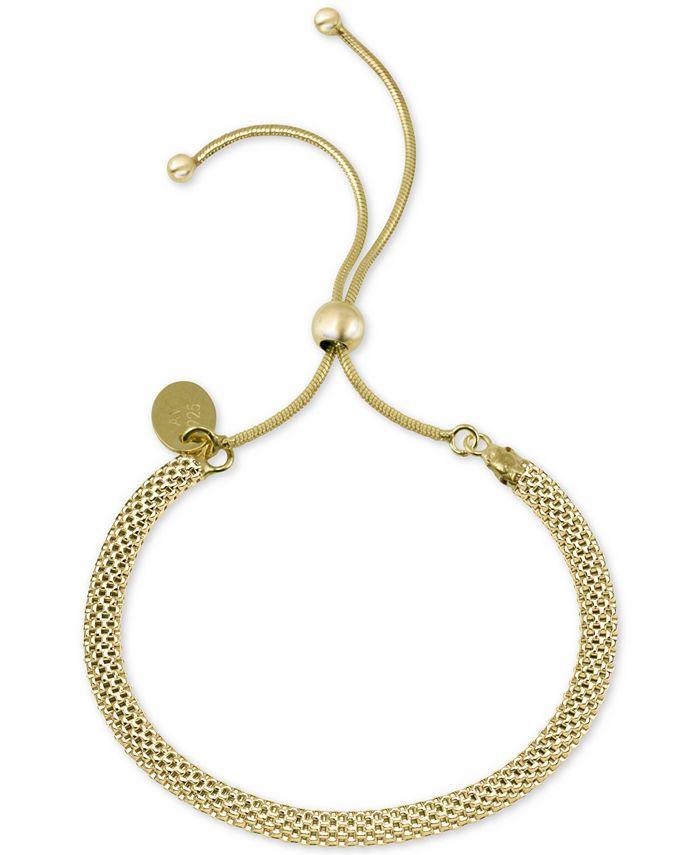 Argento Vivo - Mesh Chain Bolo Bracelet