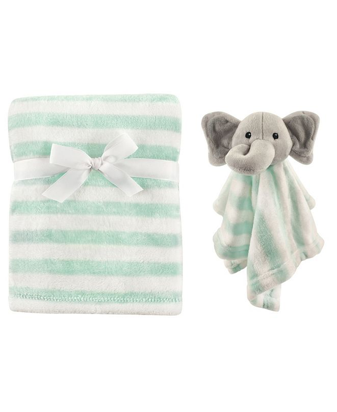 Hudson Baby Hudson Baby Plush Blanket and Security Blanket Set, One Size