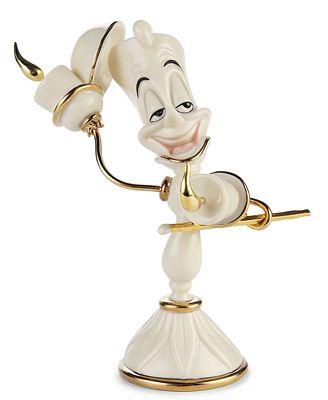 Disney 39 S Beauty The Beast Lumiere Figurine By Lenox Ebay