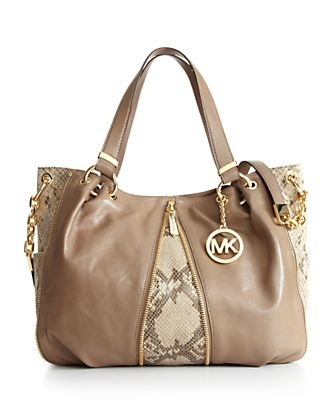 MICHAEL Michael Kors Handbag, Newman Large Shoulder Tote