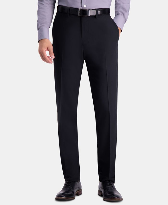 Haggar - Men's Slim-Fit Herringbone Pants