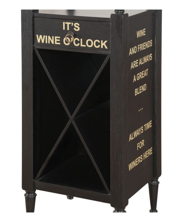Acme Furniture Anthony Wine Cabinet & Reviews - Furniture - Macy's