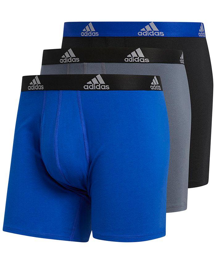 adidas - Men's 3-Pk. Stretch Briefs