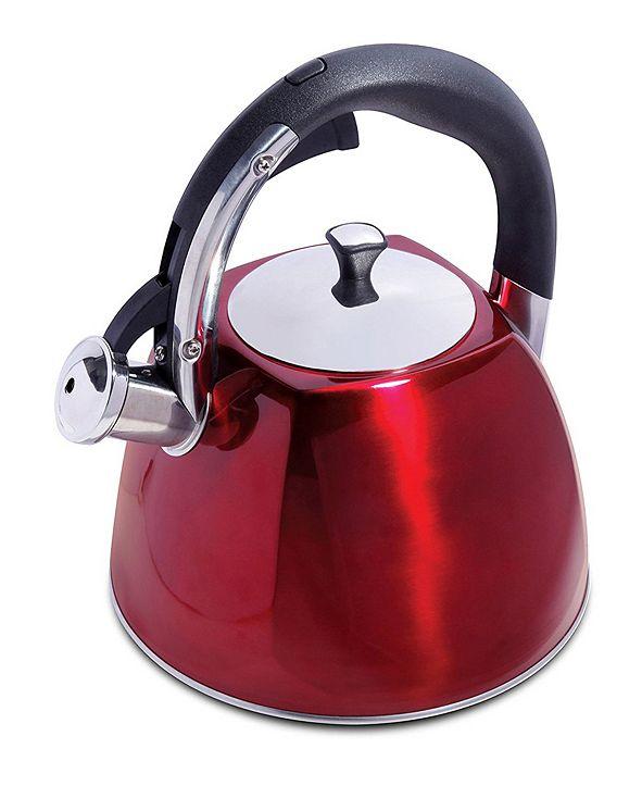 Megagoods Mr. Coffee Belgrove 2.5 Quart Whistling Tea Kettle