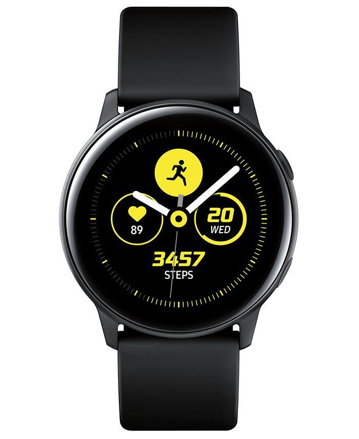 Samsung - Galaxy Active Black Watch, 40mm