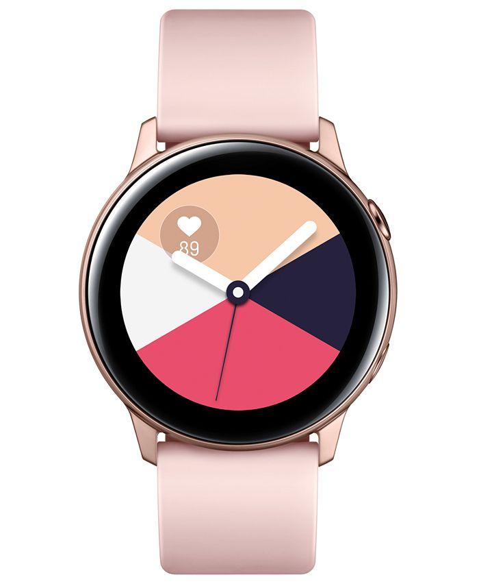 Samsung - Galaxy Active Rose Gold Watch, 40mm
