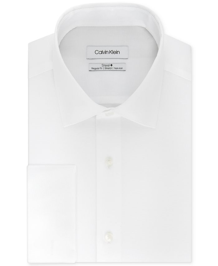 Calvin Klein - Men's Classic-Fit Performance Stretch Dress Shirt