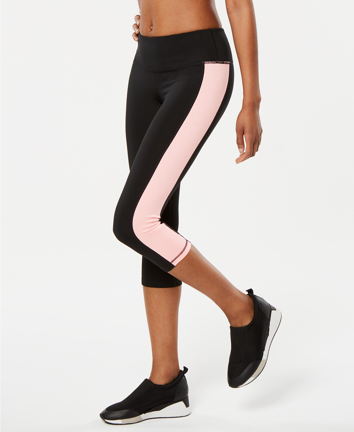 (50% OFF Deal) Colorblocked Cropped Leggings $12.25