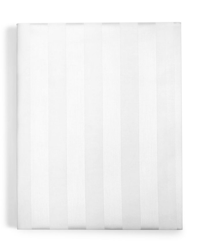 Charter Club - Damask Stripe Cotton 550-Thread Count Queen Fitted Sheet