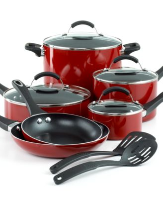 CLOSEOUT! Farberware Premium Professional Dishwasher Safe 12 Piece Cookware Set