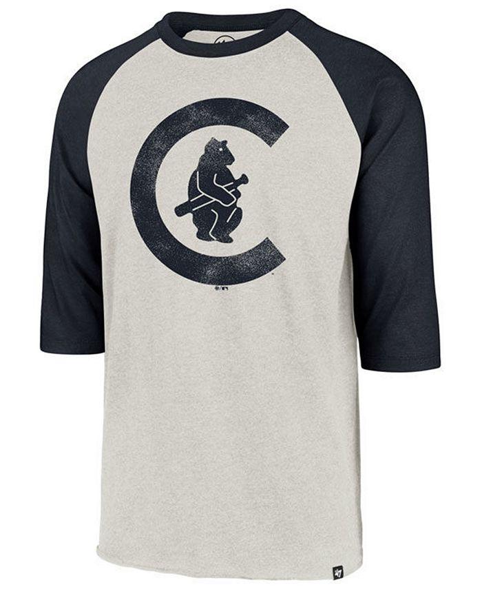 '47 Brand - Men's Coop Throwback Club Raglan T-Shirt