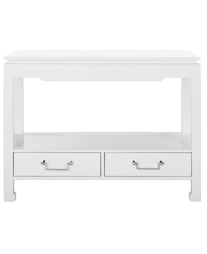 Safavieh - Corbell 2-Drawer Lacquer Console Table