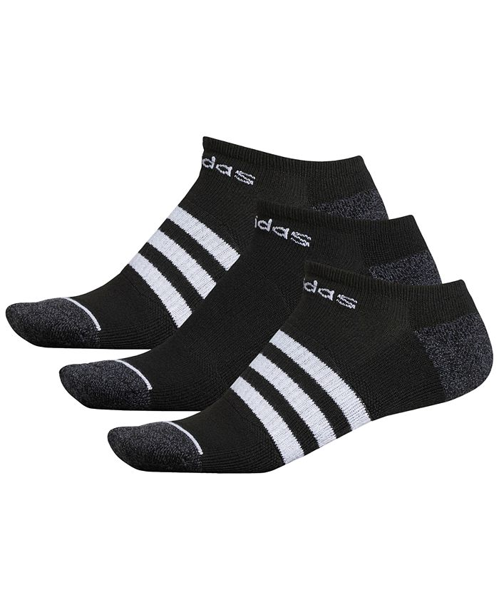 adidas - Men's 3-Pk. No-Show Socks