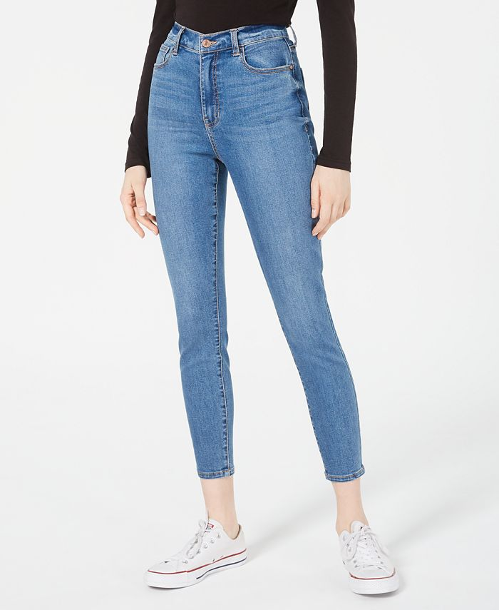 Celebrity Pink - Juniors' High-Rise Skinny Ankle Jeans