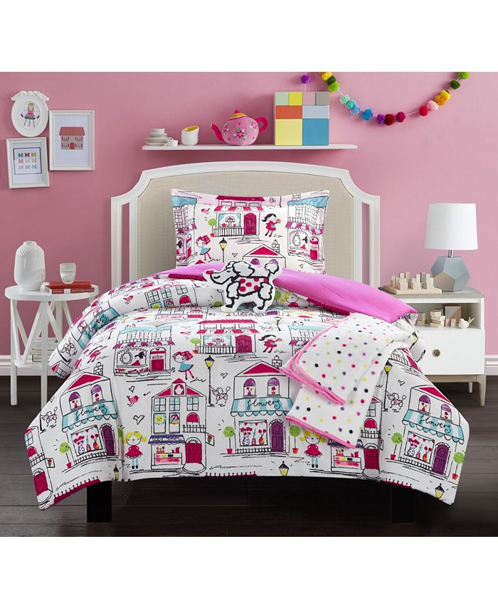 Chic Home - Kid's City 5-Pc. Comforter Sets