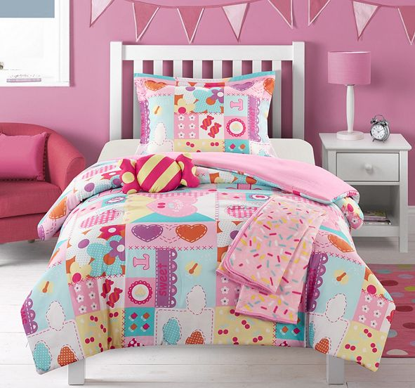 Chic Home Candy 4 Piece Twin Comforter Set