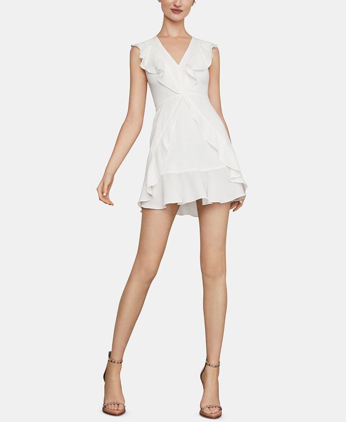 BCBGMAXAZRIA - Ruffled Fit & Flare Dress