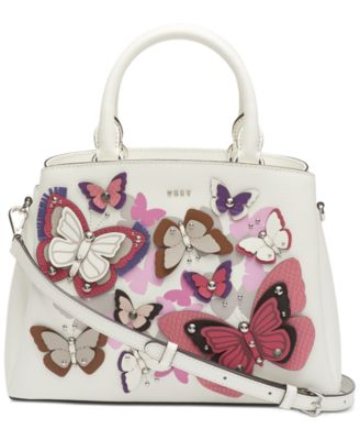 DKNY Paige Leather All Over Butterfly